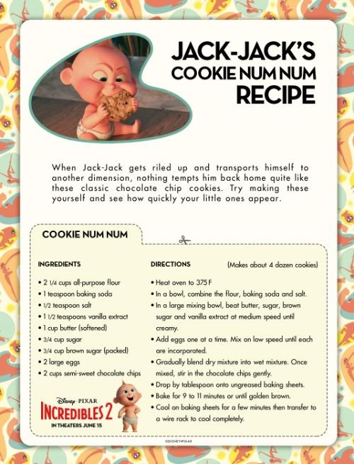 Incredibles Printables and Num Nums