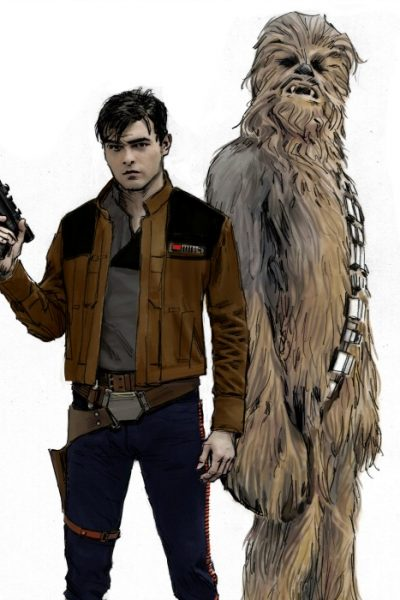 Solo: A Star Wars Story Actor Interviews Plus Creatures and Costumes