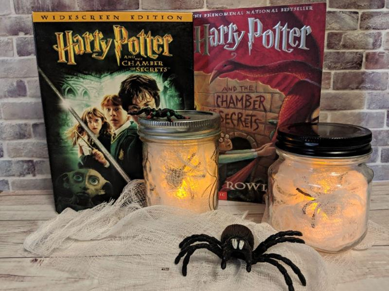 Spider Halloween Luminaries Harry Potter and The Chamber of Secrets