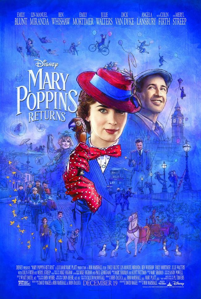New Mary Poppins Returns Movie Trailer and Photos