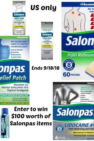 Safer Pain Relief with Salonpas