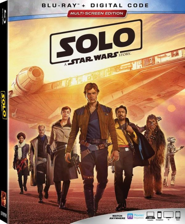 Solo: A Star Wars Story Blu-ray Multi-Screen Edition