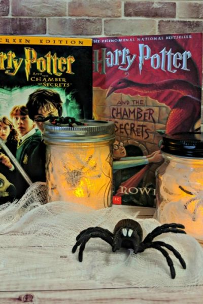 Spider Halloween Luminaries | Harry Potter and The Chamber of Secrets