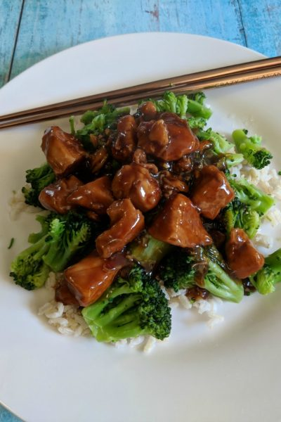 Easy Pressure Cooker General Tso's Chicken plus Giveaway US 10/5