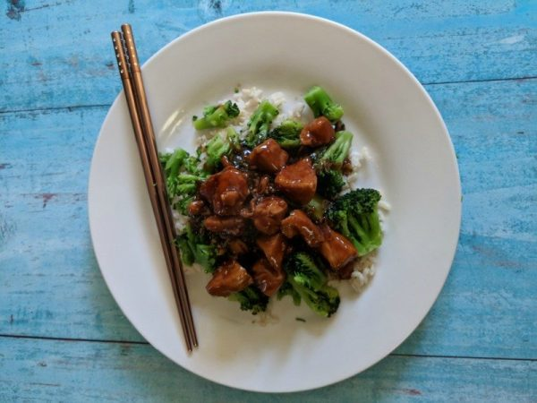 Easy Pressure Cooker General Tso's Chicken