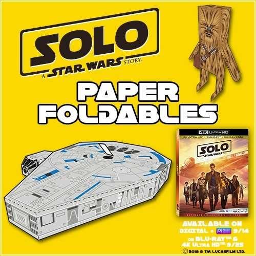 Millennium Falcon Concept Art with Solo Crafts