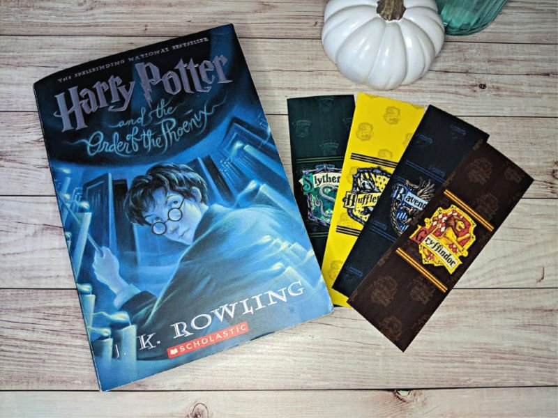 image regarding Printable Harry Potter Bookmarks identify Free of charge Harry Potter Bookmarks towards Print Harry Potter and The