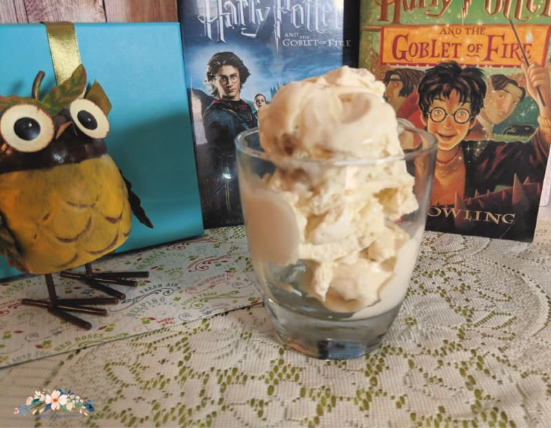 Butterbeer Ice Cream and Harry Potter Game Tri-Wizard Game