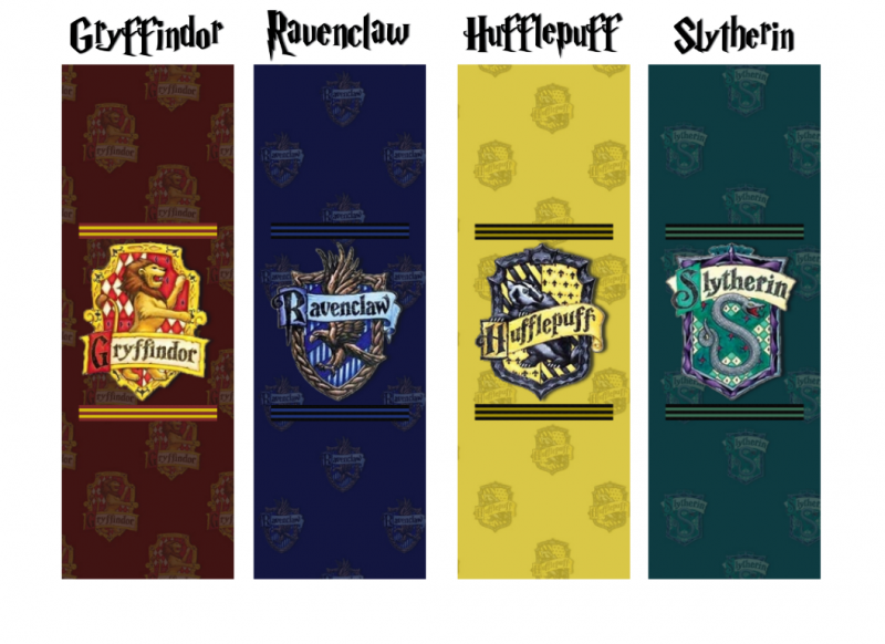 It is a picture of Mesmerizing Free Printable Harry Potter Bookmarks