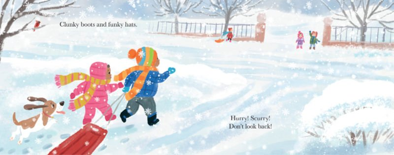 First Snow and Tough Cookie Children's Books