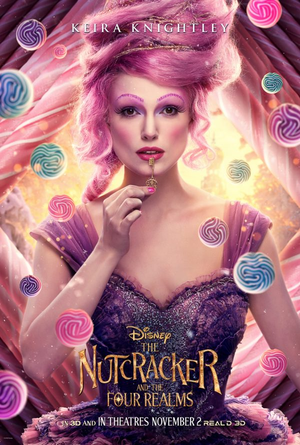Sugar Plum Fairy Cake Mix Cookie Recipe Disney's The Nutcracker And The Four Realms