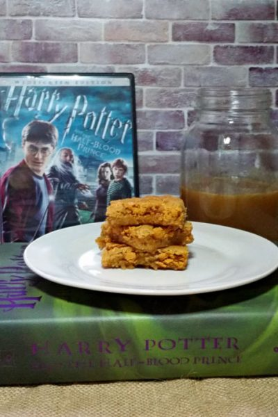 Butterbeer Blondies Recipe | Harry Potter and The Half-Blood Prince