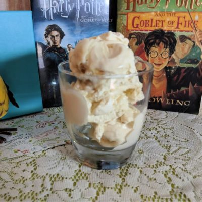 Butterbeer Ice Cream and Harry Potter Game Tri-Wizard Game | The Goblet of Fire