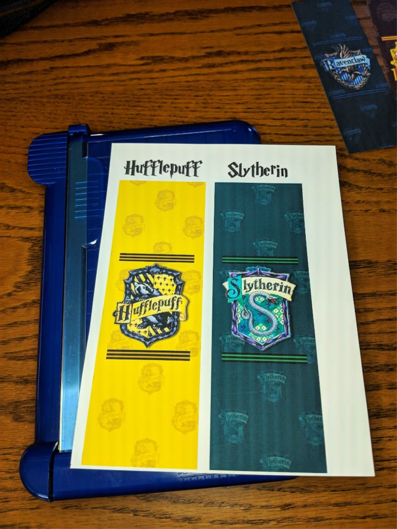 image regarding Printable Harry Potter Bookmarks identified as Cost-free Harry Potter Bookmarks toward Print Harry Potter and The