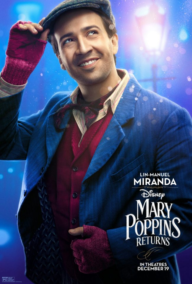 Mary Poppins Returns Character Posters & Sneak Peek