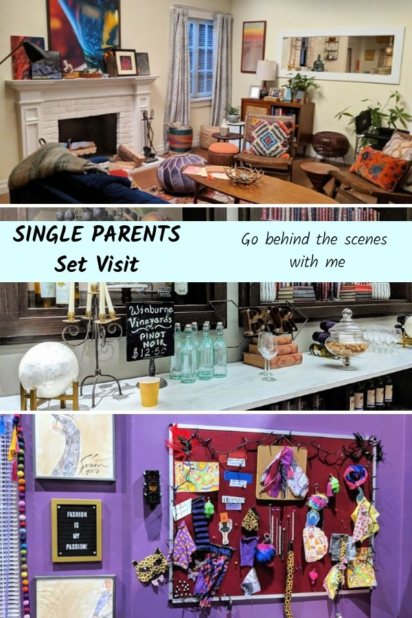 Go behind the scenes of SINGLE PARENTS! I have lots of photos from the set and more information on the show!