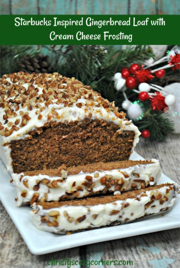 Starbucks Gingerbread Loaf Inspired Recipe Starbucks Copycat Gingerbread Loaf