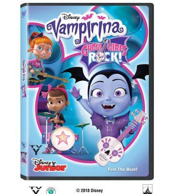Vampirina Ghoul Girls Rock is on DVD Nov 6th