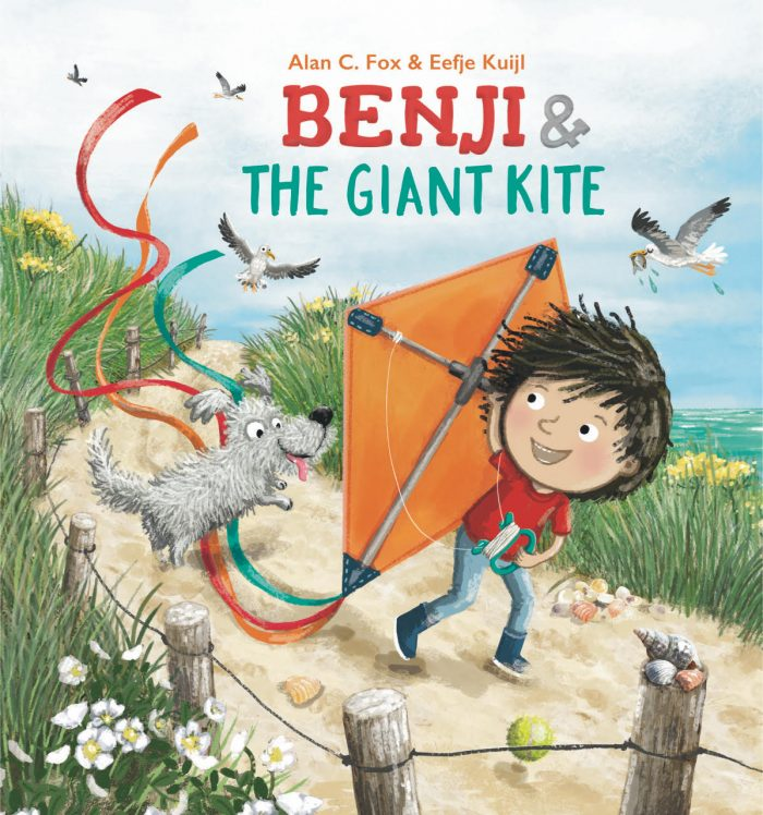 Benji & The Giant Kite by Alan C. Fox $5 Amazon GC & Book: Fall Favorites Giveaway Hop US 11/15