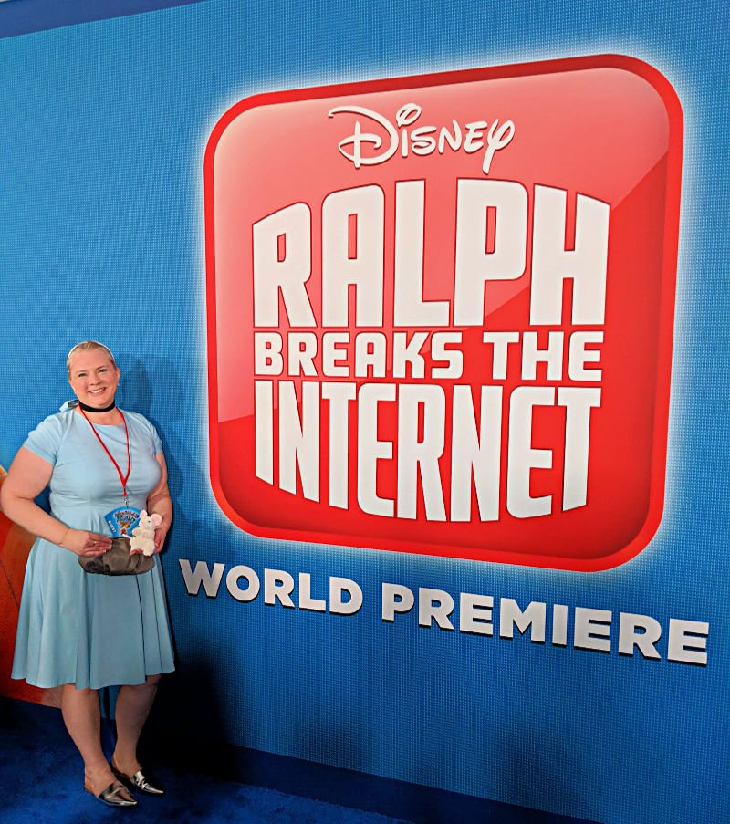 I Walked the Red Carpet at the Ralph Breaks The Internet World Premiere