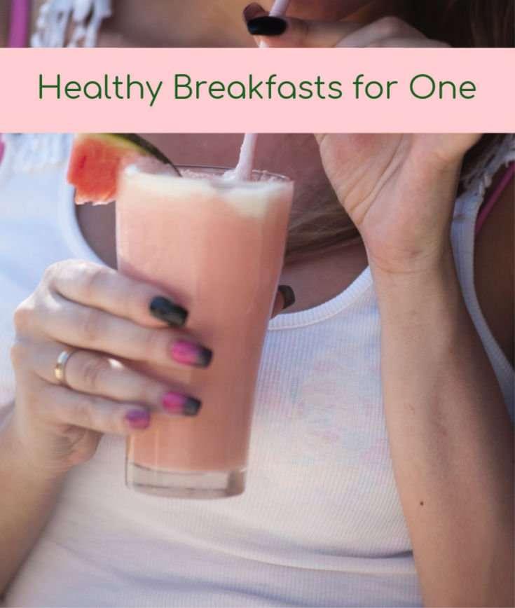 Three Healthy Breakfasts For Single Seniors