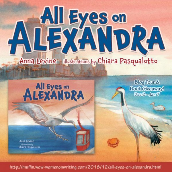 Puffins and Cranes Inspiration for Author of All Eyes on Alexandra: Anna Levine