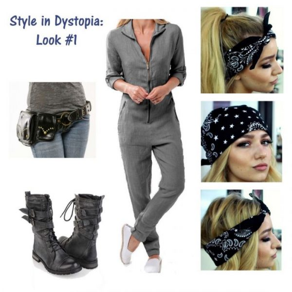 Style in Dystopia Look 1 How to Style a Jumpsuit