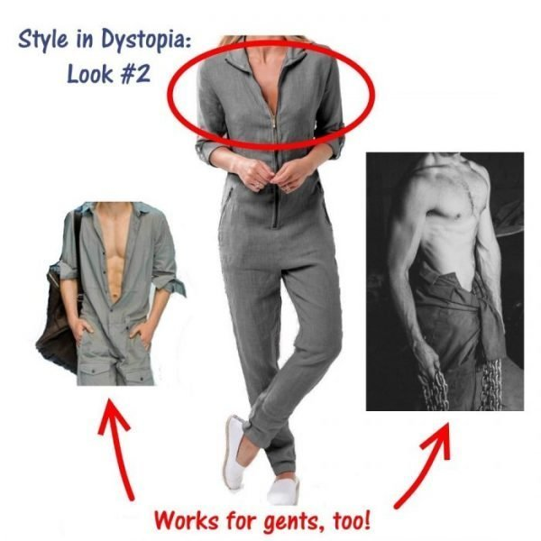 Style in Dystopia Look 2 How to Style a Jumpsuit