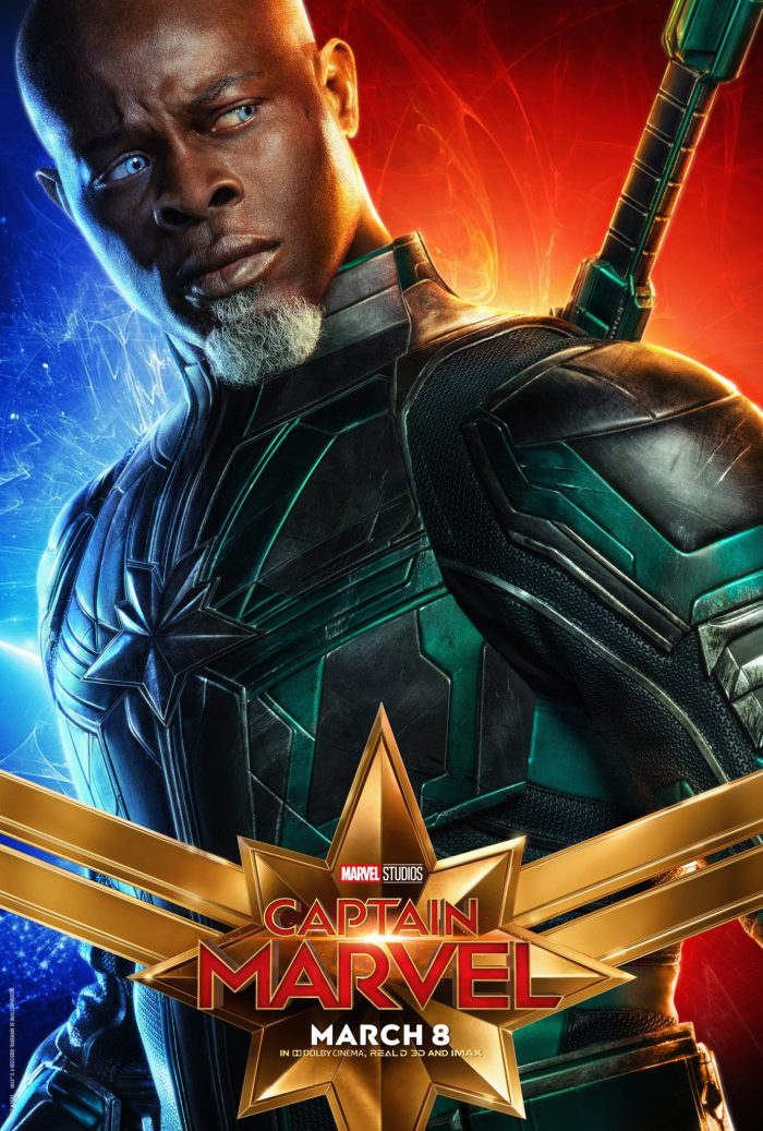 Djimon Hounsou in Captain Marvel