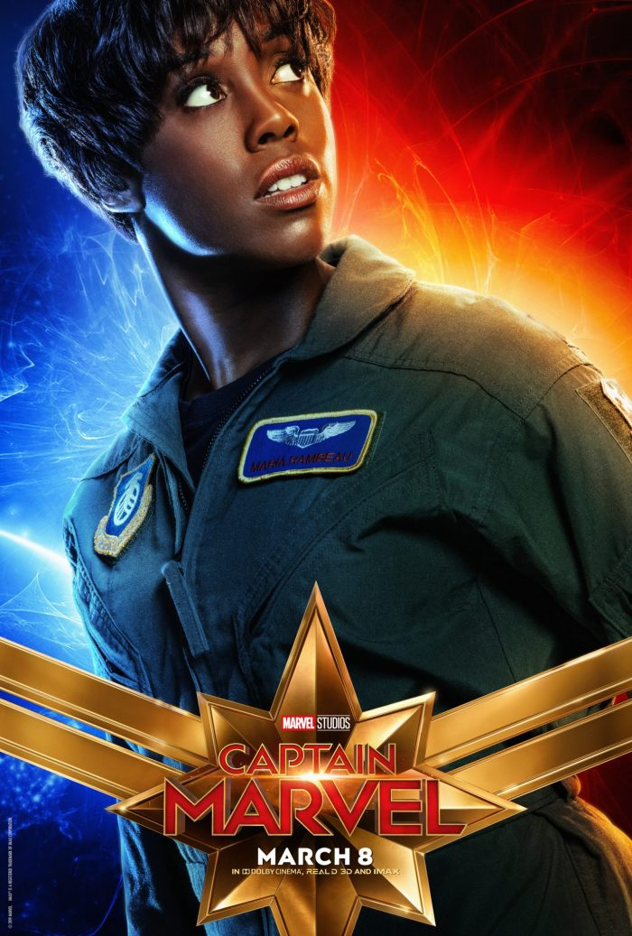 Lashana Lynch in Captain Marvel
