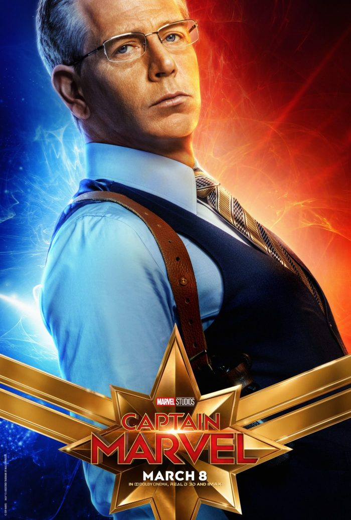 Ben Mendelsohn in Captain Marvel