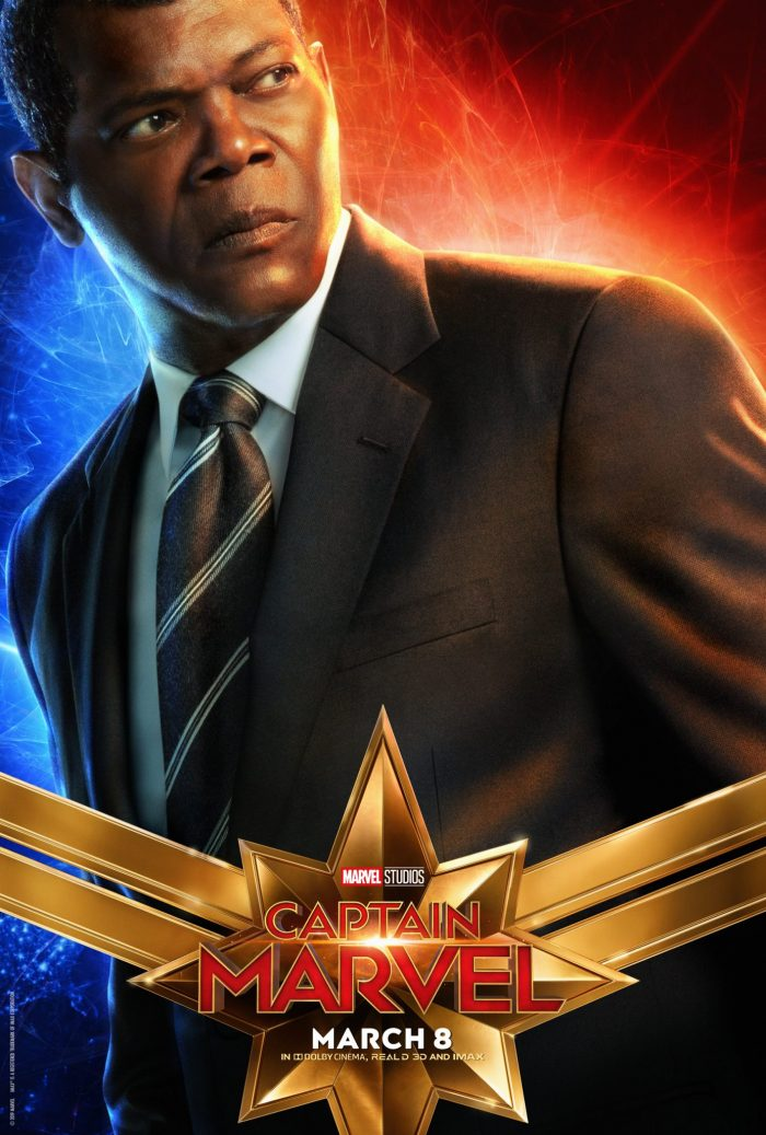 Samuel L. Jackson in Captain Marvel