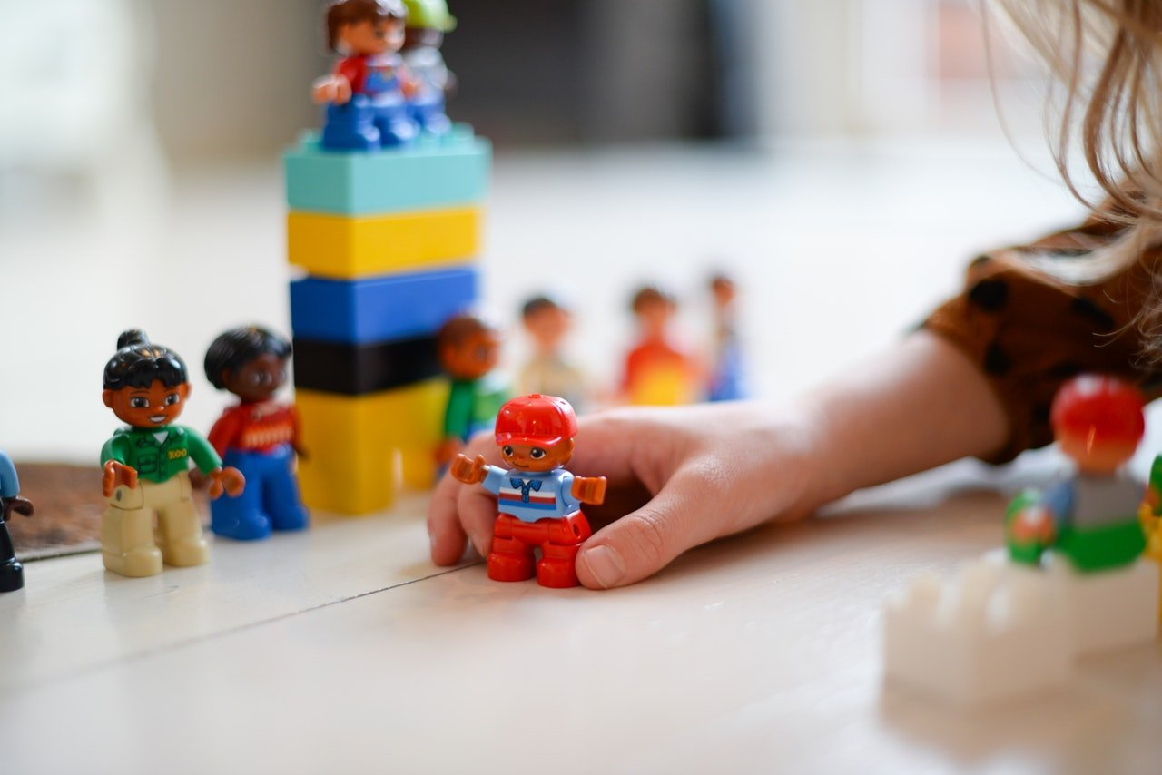 Gender neutral toys are good to have in an office creche