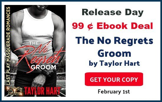 The No Regrets Groom by Taylor Hart 99 cent sale