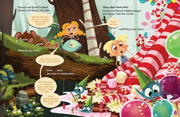 It's Not Hansel and Gretel by Josh Funk