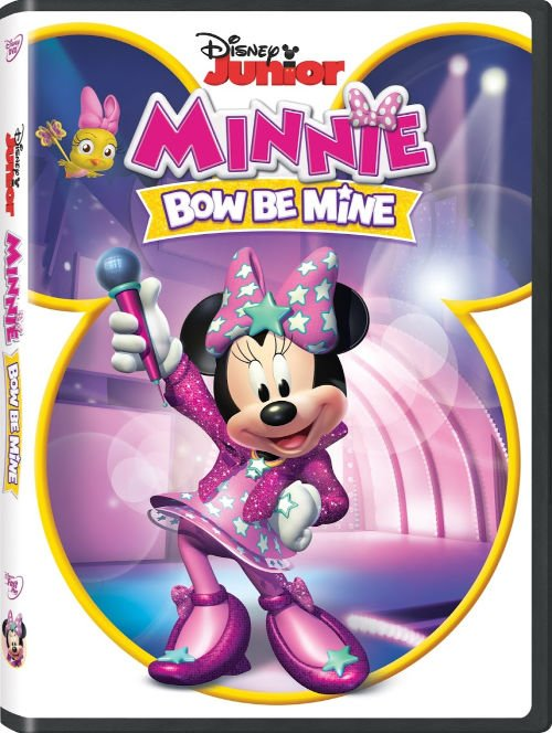 Disney Junior Minnie Bow Be Mine DVD