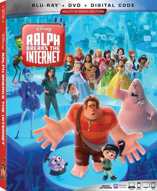Ralph Breaks the Internet Blu-ray DVD Digital
