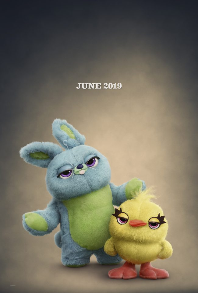 Ducky and Bunny in Toy Story 4