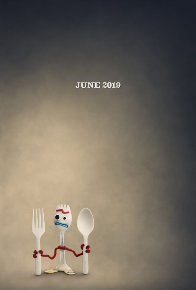 Toy Story 4 Character Posters Forky