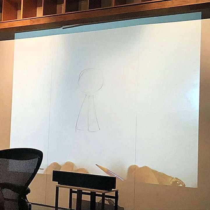 Drawing Vanellope Von Schweetz with Mark Henn
