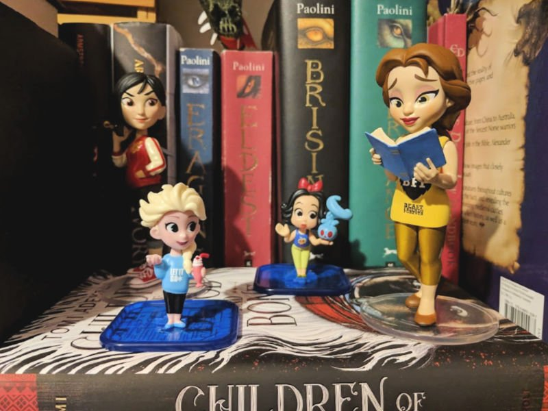 Mulan and Belle Rock Candy Funko Elsa and Snow White Comfy Princesses