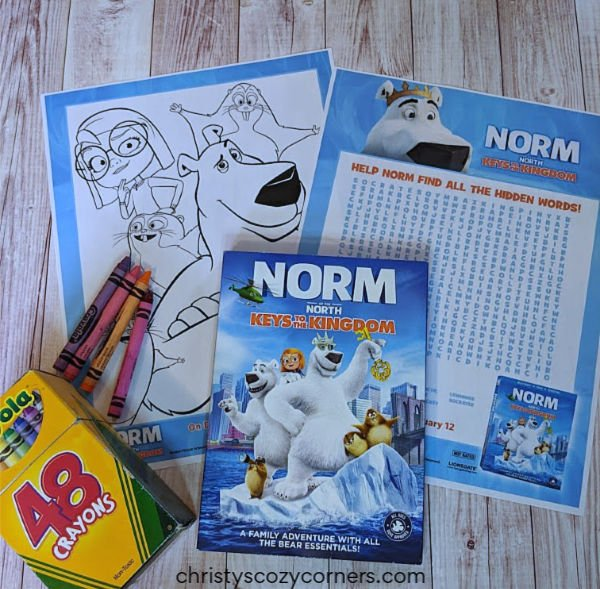 Norm of the North Keys to the Kingdom Free Printable Coloring Pages and Word Search