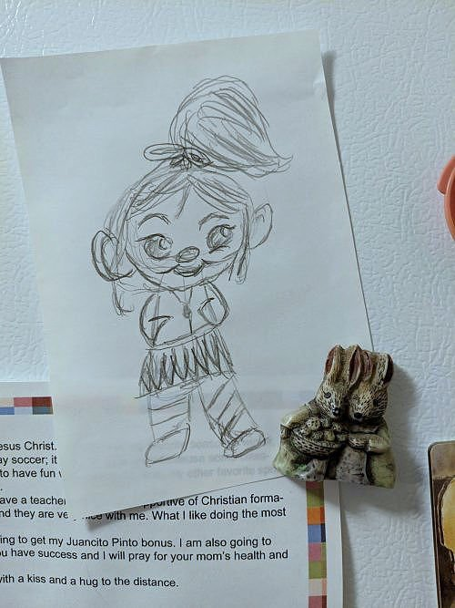 My Drawing of Vanellope