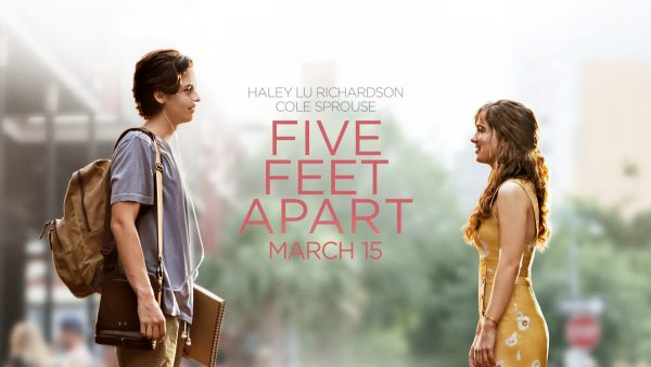 Cole Sprouse and Haley Lu Richardson star as two patients with cystic fibrosis in Five Feet Apart
