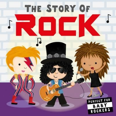 The Story of Rock Pop Culture Book for Toddlers