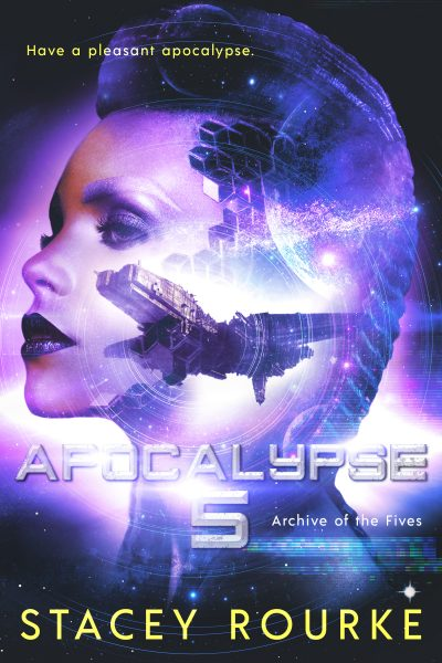 Dystopian Virtual Reality Book Apocalypse Five
