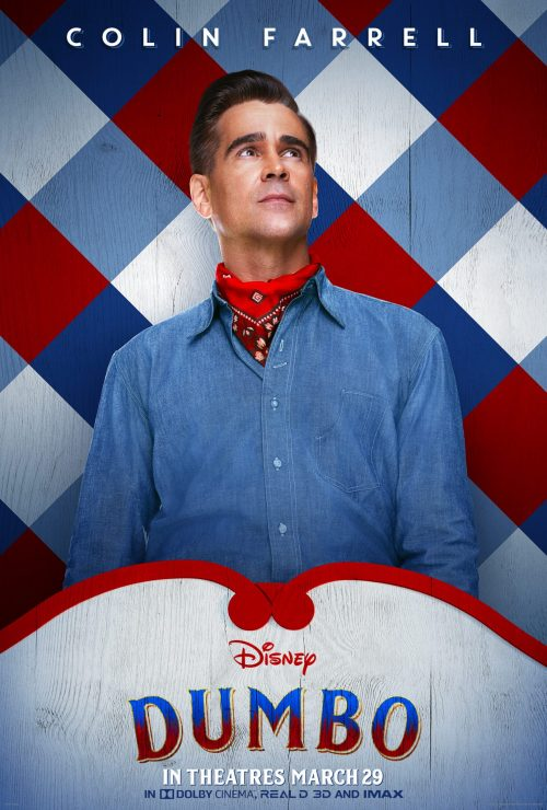 Dumbo Character Poster Colin Farrell