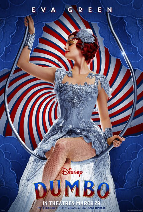 Dumbo Character Poster Eva Green