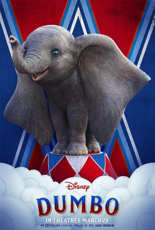 Dumbo Character Poster