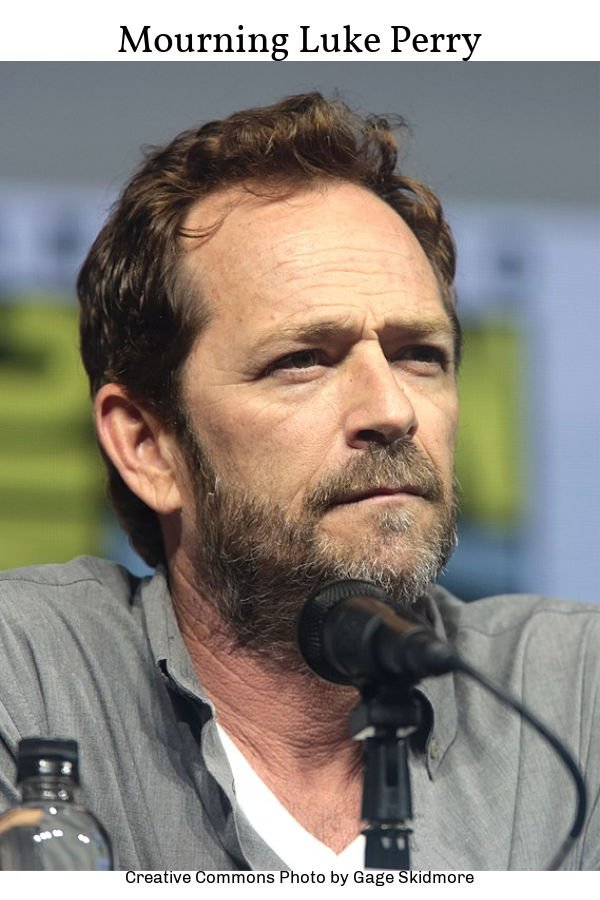 Mourning Luke Perry of Riverdale and Beverly Hills 90210